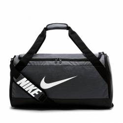 Woman training Bag Nike Brasilia - stříbrná