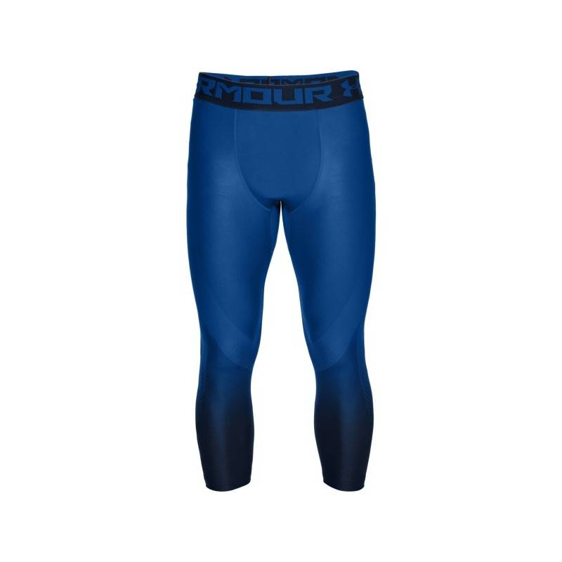 Man Tight Under Armour HeatGear Armour Hg 2.0 3/4 Legging - blue