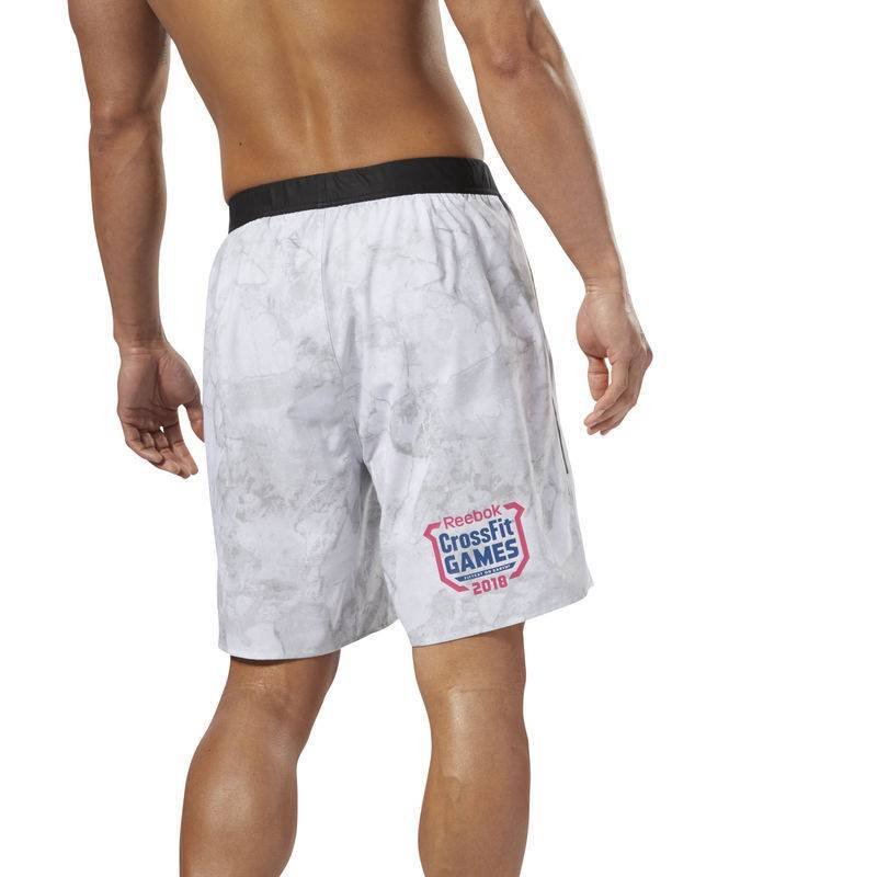 476f0b3b520 ... Man Shorts Reebok CrossFit Games 2018 Speed Short Stone G - DN6177 ...
