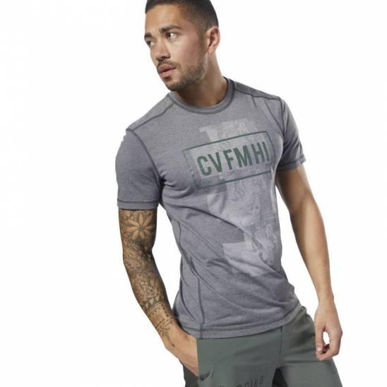Pánské tričko Reebok CrossFit Burnout SS Tee - Solid - D94898 ... 1fe9be4be2