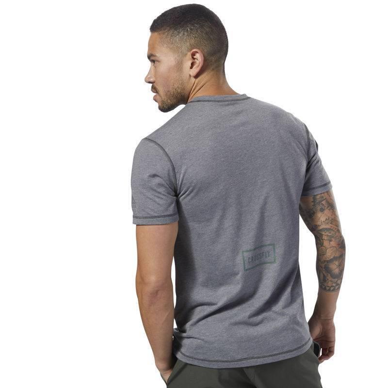... Pánské tričko Reebok CrossFit Burnout SS Tee - Solid - D94898 ... af6717e019