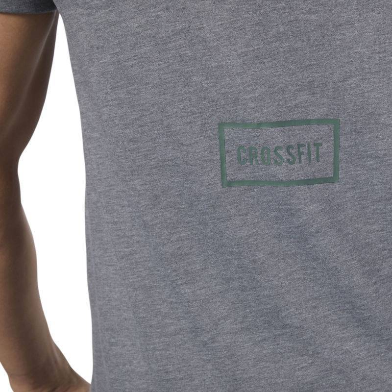 288b5e6ecd59 Man T-Shirt Reebok CrossFit Burnout SS Tee - Solid - D94898 - WORKOUT.EU