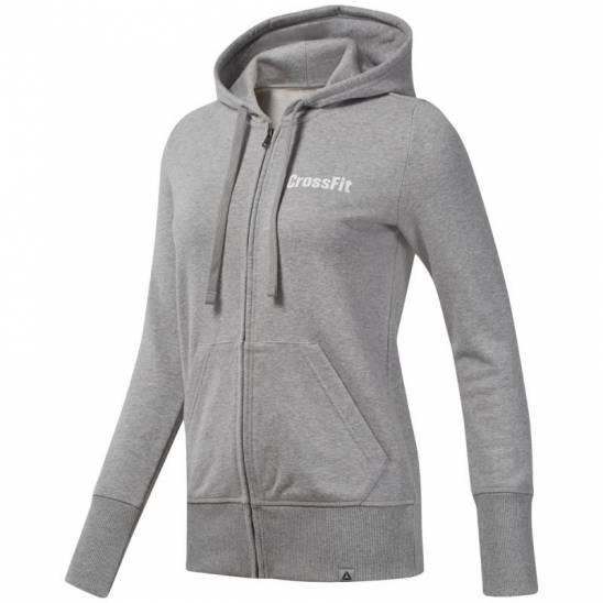 b4d6dd33d Woman hoodie Reebok Crossfit Zip Hoodie - DU4593