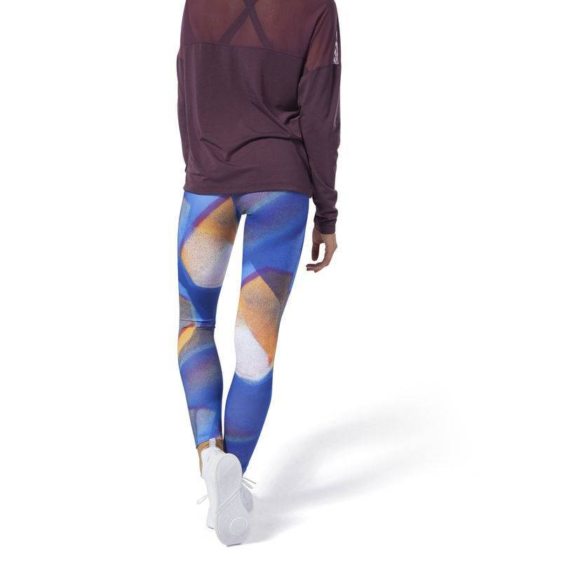 womens Women Reebok Y Lux Bold Highrise Tight Tights