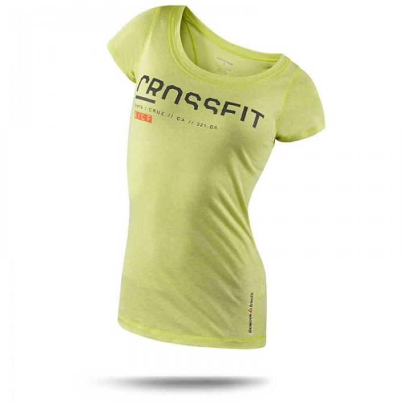 Dámské tričko CrossFit SS TRI GR1 Z89045