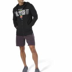 Man hoodie Reebok CrossFit Zip Hoodie - DU4614