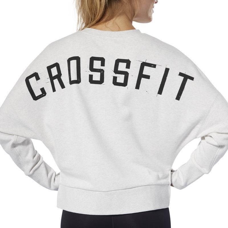 62b48341 Woman hoodie Reebok CrossFit Terry Crew - DQ0040 - WORKOUT.EU
