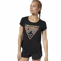 Dámské tričko Reebok CrossFit Neon Retro Easy Tee - DP6219