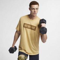 Pánské tričko Nike DB bar - zelené