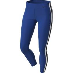 Woman training Tight Nike Power 7/8 Elastic - blue
