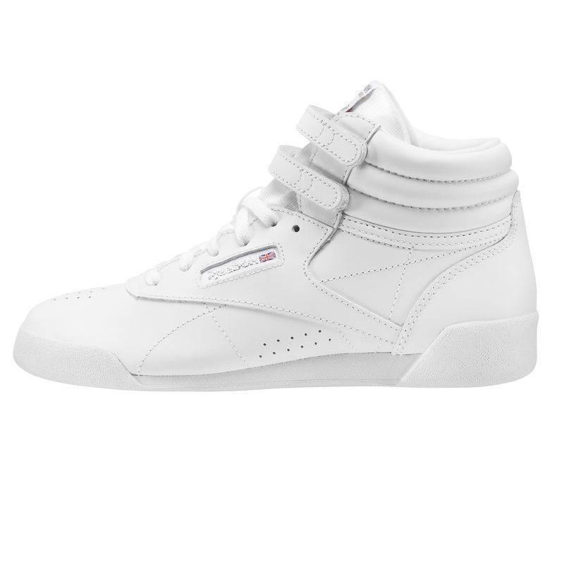 5de7b2d83f9 ... Child racing white Shoes to aerobik Reebok Freestyle HI f s Classic -  CN2553