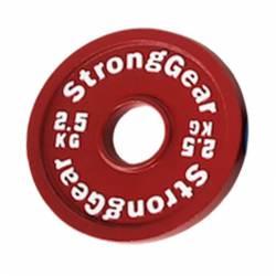 Steel fractional disk StrongGear - 2,5 Kg