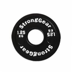 Steel fractional disk StrongGear - 1,25 Kg
