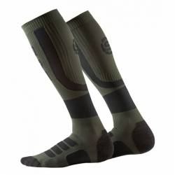 Man compression knee socks Skins Essentials Comp Socks Active Midw Black/Utility