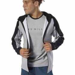Pánská mikina Les Mills FZ Hood - DV2710