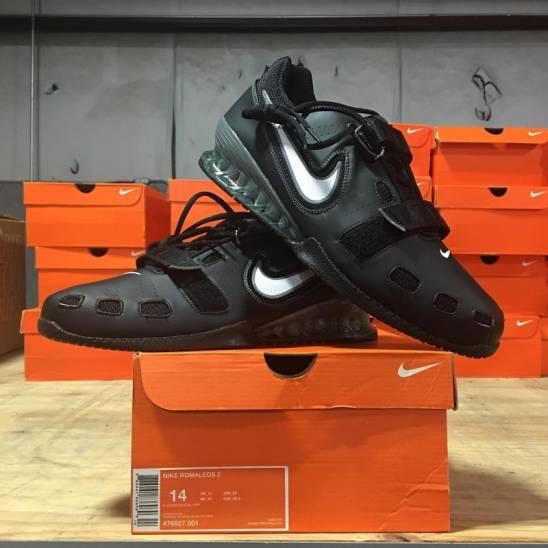 1e1714cb381 Pánské boty Nike Romaleos 2 - Black - WORKOUT.EU
