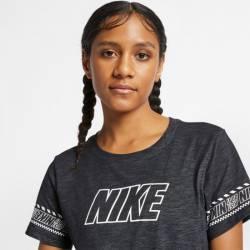 Woman T-Shirt NIKE DRY TEE DFC BRAND SLUB