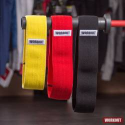 Set of three text resistance bands