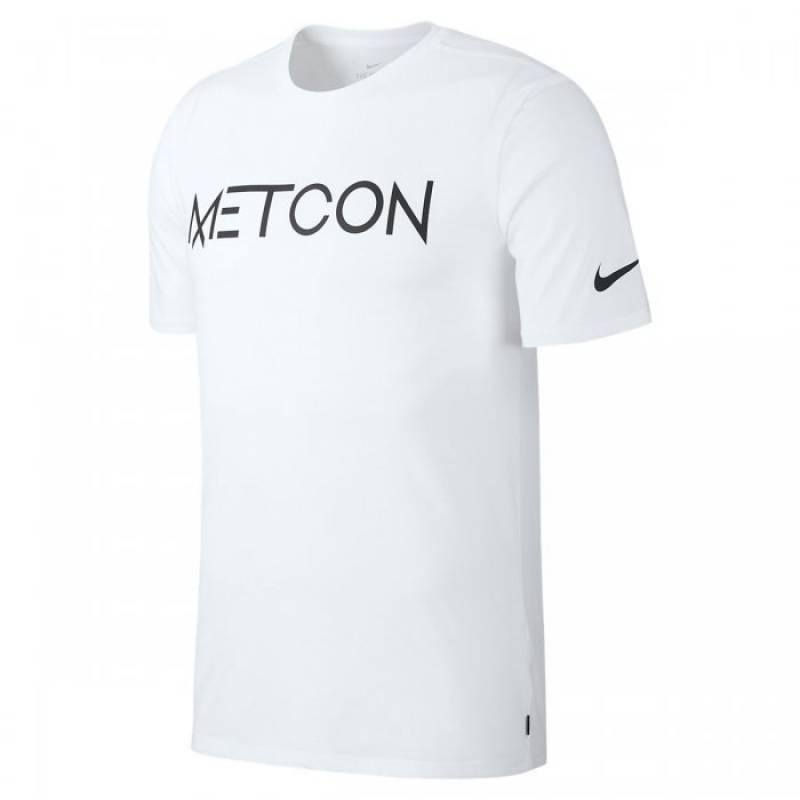 Man T-Shirt Nike Metcon - white