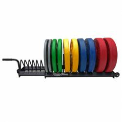 StrongGear stand for bumper and Olympic discs