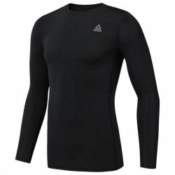 Man compression T-Shirt WOR R LO SLEEVE SOLID - DP6170