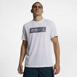 Pánské tričko Just do it - bílé