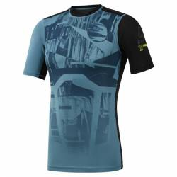Man compression T-Shirt OST SS Tee - Printed - DU3958