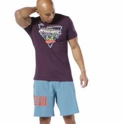 Man T-Shirt Reebok CrossFit Neon Retro Tee - DT2818