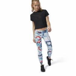 Woman Tight Reebok CrossFit Lux Tight - Science - DQ0029
