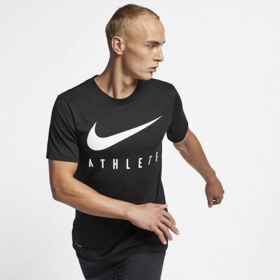 04c8ff9b6 Man T-Shirt Nike Athlete - black - WORKOUT.EU