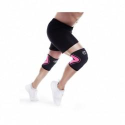 Bandáž kolene 3 mm - černá/růžová