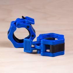 Plastový uzávěr na osu 50 mm - modré (pár)