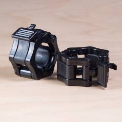 Clamps for 50 mm Bar - black (pair)