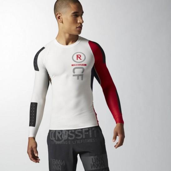 3d012b8bb05 Man T-Shirt CrossFit PWR5 compression T-Shirt long - AB4904 - WORKOUT.EU