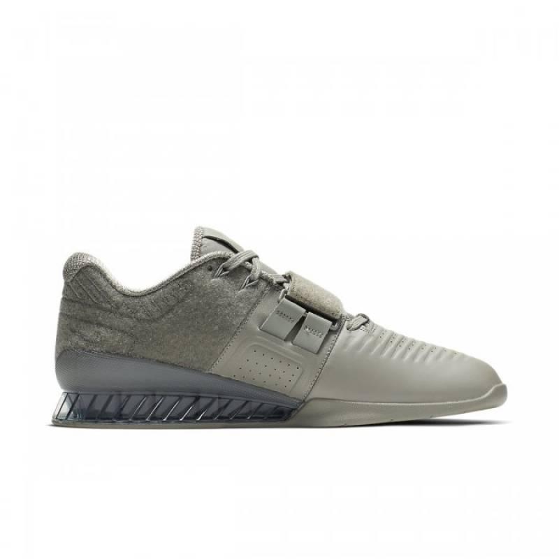 Engaño partes Creta  Man Shoes Nike Romaleos 3.5 XD Patch - DARK STUCCO - WORKOUT.EU