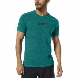 Man T-Shirt Reebok CrossFit Marble Melange CrossFit Tee - EC1483