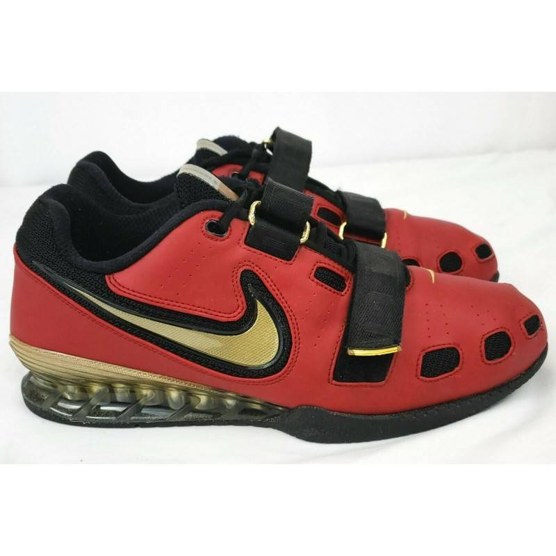 Man Shoes Nike Romaleos 2 - red/gold