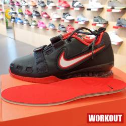 Man weightlifting Shoes Nike Romaleos 2 - Black / Red