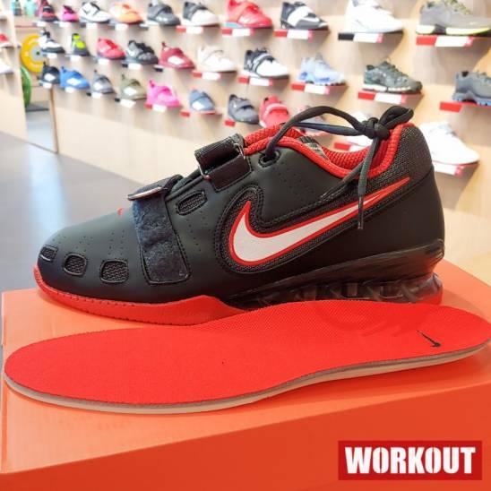 si Buscar a tientas el plastico  Man weightlifting Shoes Nike Romaleos 2 - Black / Red - WORKOUT.EU