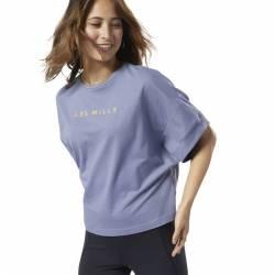 Dámské tričko Les Mills PERF COTTON CROP TEE - ED3680