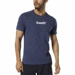 Man T-Shirt Reebok CrossFit Marble Melange CrossFit Tee - DY8425