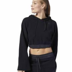 Woman hoodie Les Mills LIGHTWEIGHT HOODIE - ED0591