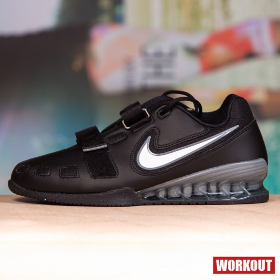 0c70f8df02e Man Shoes Nike Romaleos 2 - Black   Silver - WORKOUT.EU
