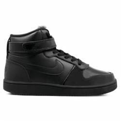 Woman Shoes Nike EBERNON MID PREMIUM black