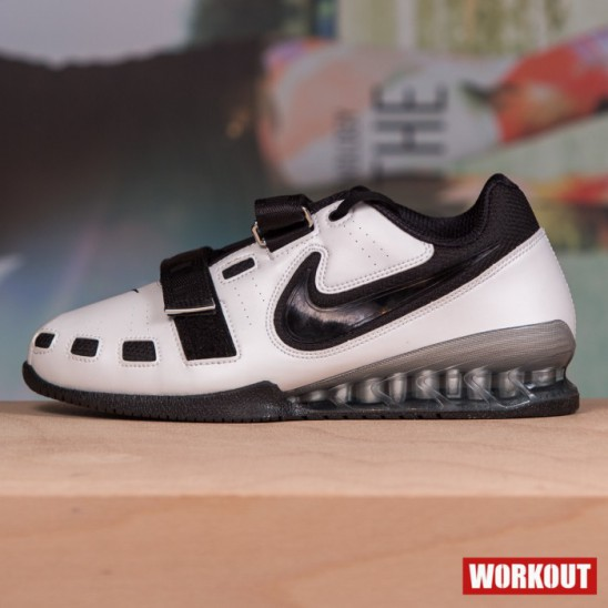Man Shoes Nike Romaleos 2 - White   Black - WORKOUT.EU 90dab2414ec2