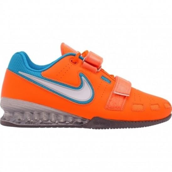 Nike Romaleos 2 Weightlifting Shoes - orange   blue - WORKOUT.EU 7ed3b0e679