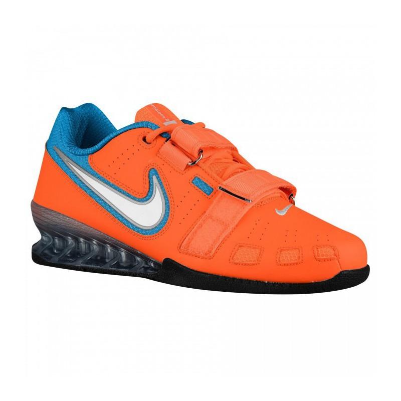 Sedante compartir Determinar con precisión  Nike Romaleos 2 Weightlifting Shoes - orange / blue - WORKOUT.EU