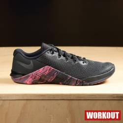 Man Shoes Nike Metcon 5 - black/sunset
