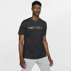 Man T-Shirt DRY TEE DFCT METCON SLUB - black