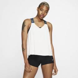 Dámský top Nike NK DRY TANK ELSTKA bílý